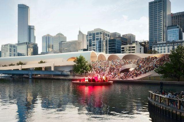 Flinders Street Station Design Competition, Melbourne
