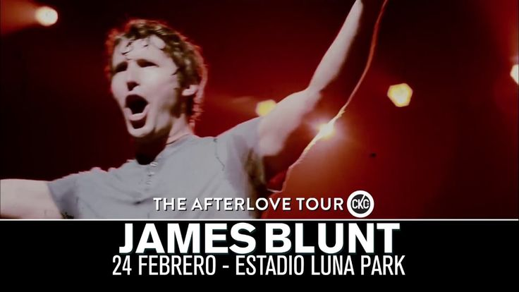 Promo video: James Blunt | The Afterlove Tour in Argentina 2018