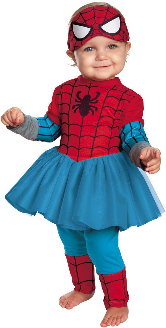 Spider-Girl Baby Costume - Spiderman Costumes