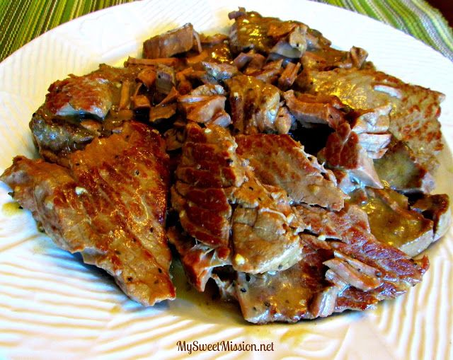Southern Slow Steaks that can be done in a crock pot or slow cooker. Simple but oh so good!