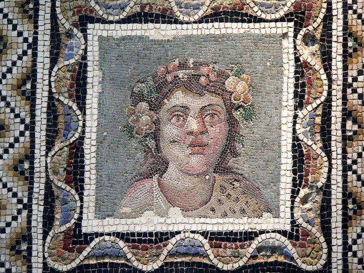 https://flic.kr/p/De8z | Opus Vermiculatum Mosaic Pavement Depicting Dionysus (Bacchus) Roman 3rd century CE | Photographed at the National Museum of Rome, Rome, Italy.