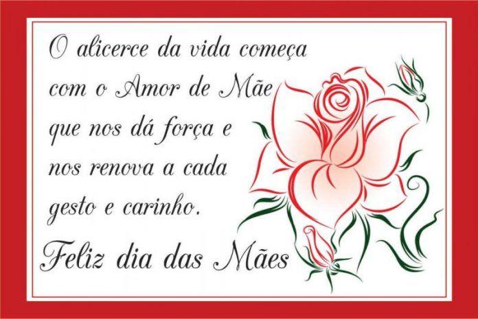 Feliz Dia Das Mães 2021 Mensagens Textos E Frases Feliz Dia Das Mães Cartão Dia Das Mães Mensagem Dia Das Mães
