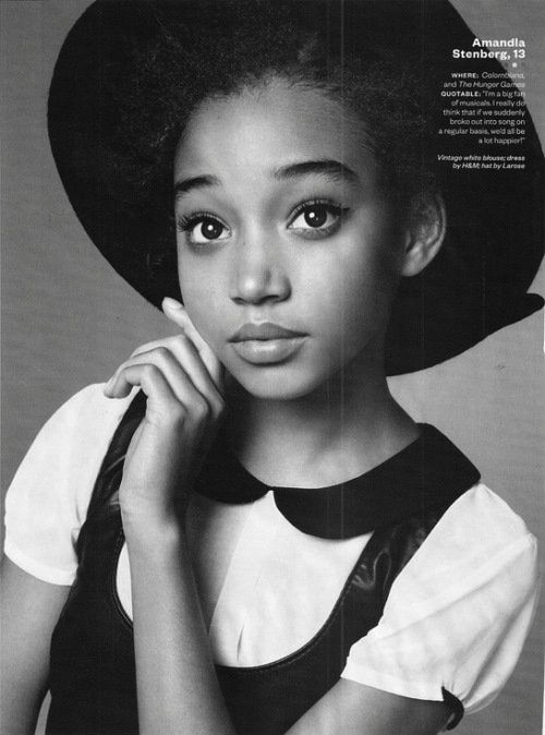 Rue, she reminds me of Cici.
