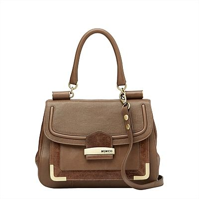 Casablanca Satchel. I just love how sophisticated and glamourous this satchel is! #mimcomuse