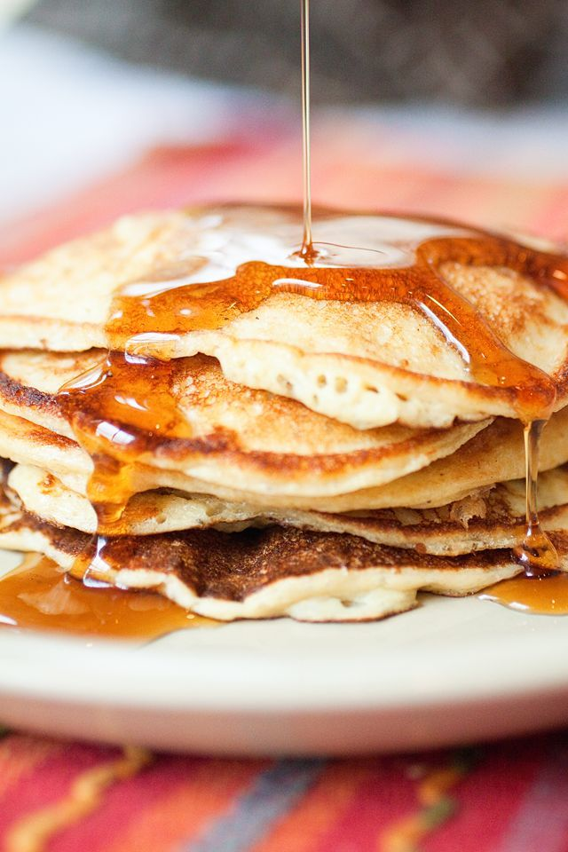 Cottage Cheese Pancakes- amazing!!!! Stella ate 6 of these- she's my picky one!