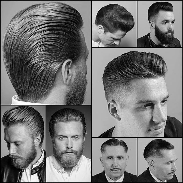 Styles for miles. #barber #haircut #style #mensstyle # scissorcut #fade #lowtaper S/O@ajmensgroomingltd #barbershop S/O @flatmax for the photo.