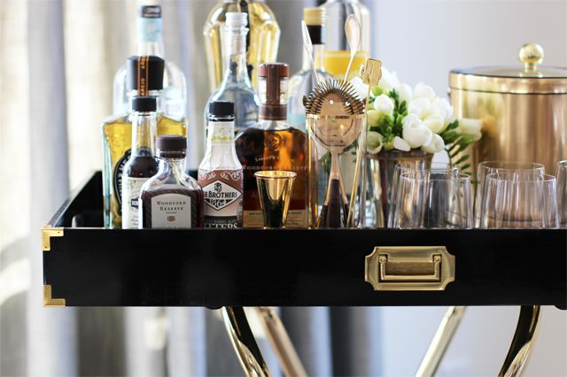 DIY Bar Tray