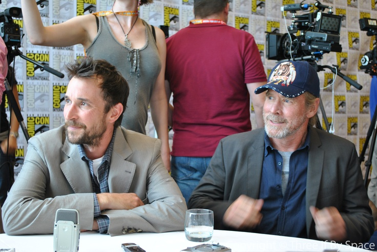 Falling Skies Noah Wyle and Will Patton Talk Leadership – Comic Con 2012 | Three If By Space