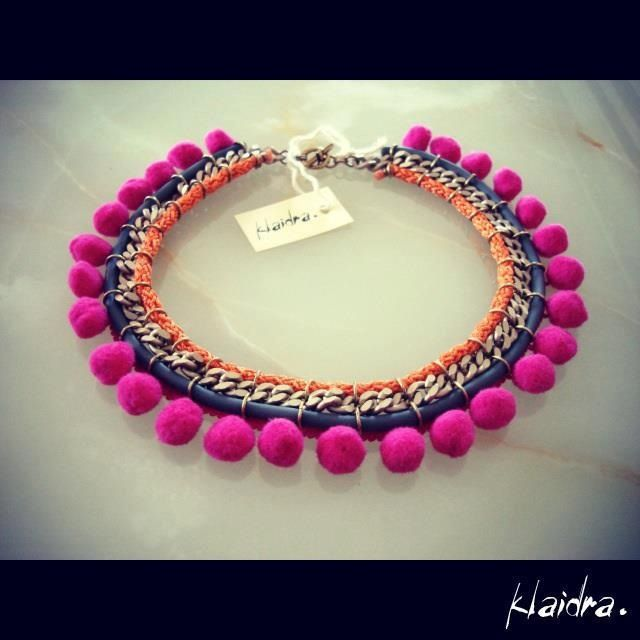 Bohemian style necklace!!