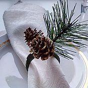 """Для дома и интерьера ручной работы. Ярмарка Мастеров - ручная работа Кольца для салфеток """"В гармонии с природой"""". Handmade."""
