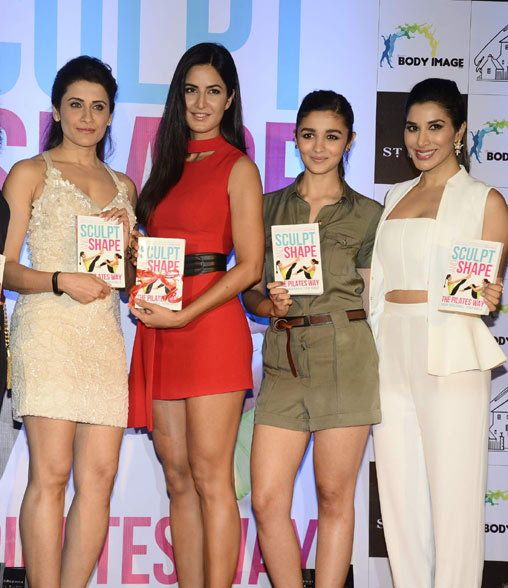 Katrina Kaif And Alia Bhatt Together At Yasmin Karachiwal Book Launch #katrina kaif #alia bhatt
