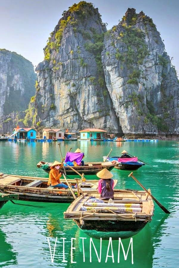 Floating villsge in Vietnam. Big world, small me: Flying into 2015: Travel plans and aspirations