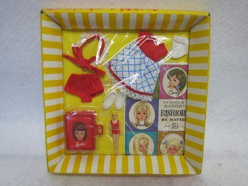 Let's Play Barbie Tutti Vintage Mod Fashion 1967 Mint Barbie Sister Mint | eBay