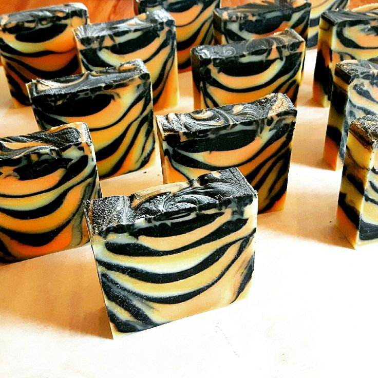 Our Tangerine Tiger soap has been flying off the shelf...time to make a double batch! :)