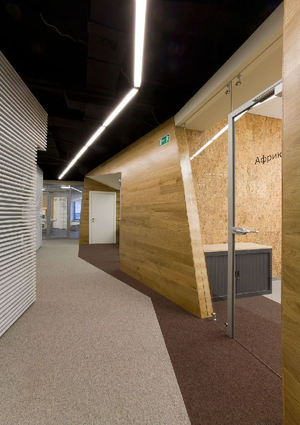 Modern Office Interior Design Ideas Called Yandex Unique