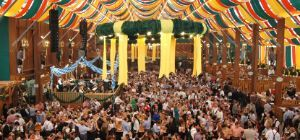 we were thereee! || Oktoberfest beer tents--ken, we should plan to be here for this! it's your dreammm :D