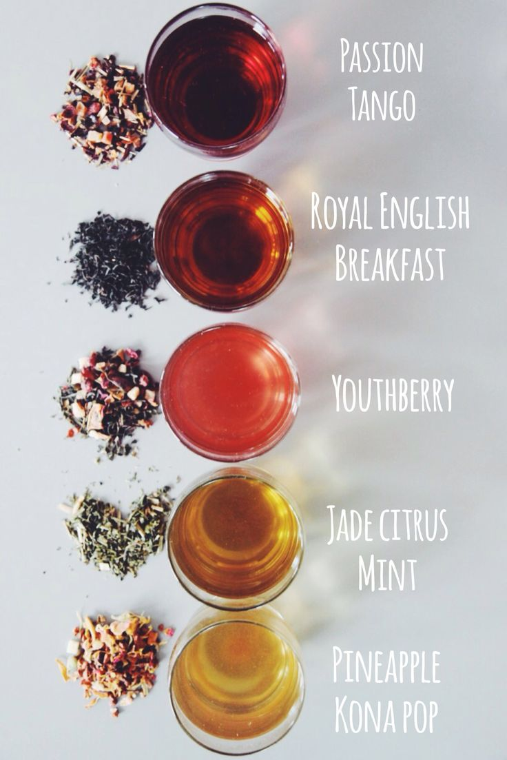 Steeped to perfection. Teavana loose leaf tea now available in Starbucks stores.  Passion Tango: 5-6 min. Royal English Breakfast: 2-3 min. Youthberry: 2 min. Jade Citrus Mint: 2 min. Pineapple Kona Pop: 5-6 min.