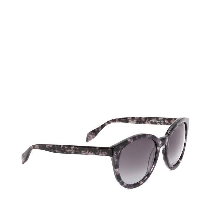 Spine Skull Round Sunglasses