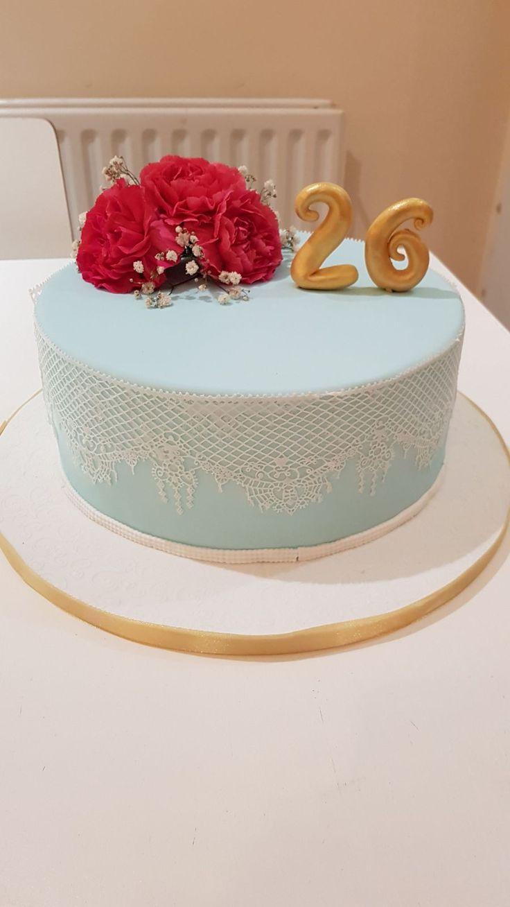Simple Birthday cake.