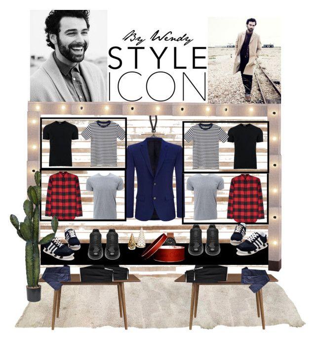 """Visual Merchandising"" by wendybernardes on Polyvore featuring interior, interiors, interior design, casa, home decor, interior decorating, Loloi Rugs, Lands' End, Dolce&Gabbana e MANGO"