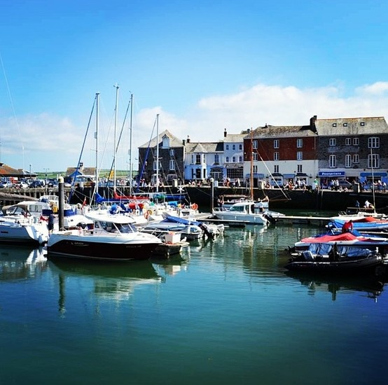 Padstow, our fishing port neighbour.