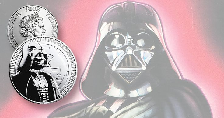 Star Wars nemesis Darth Vader now available on bullion