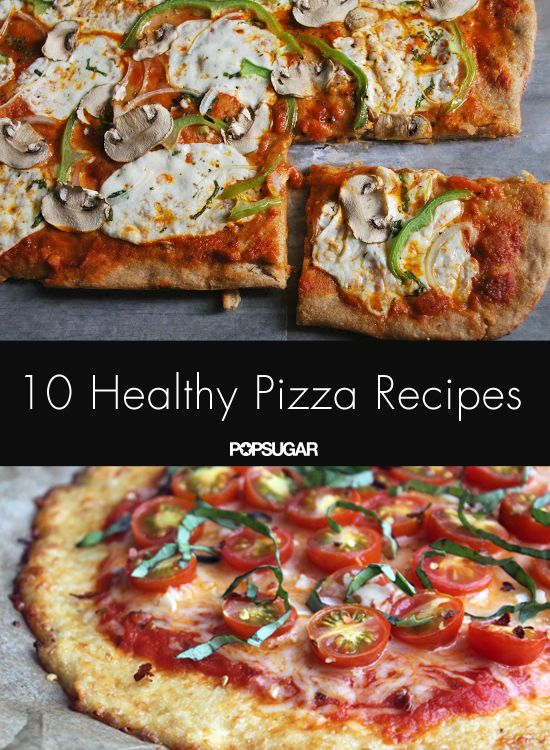 These healthy pizza recipes are better than delivery!
