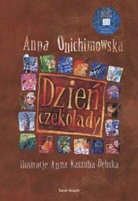 Okładka książki Dzień Czekolady. Dla dzieci w wieku 8- 10 lat.