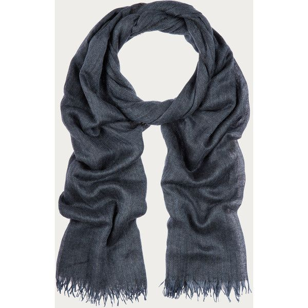 Bally Cashmere Scarf Men's cashmere and silk scarf in Dark Navy Men's... (43.895 RUB) ❤ liked on Polyvore featuring men's fashion, men's accessories, men's scarves, mens cashmere scarves, mens silk scarves and mens scarves