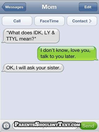 This is absolutely hilarious. I love parents and technology...