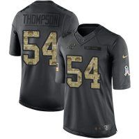 Nike Panthers #54 Shaq Thompson Black Men's Stitched NFL Limited