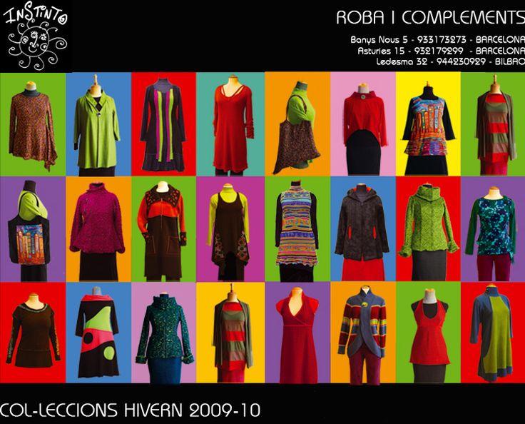 Colecciones del invierno 2009/2010 #Modabarcelona