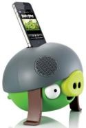 I WANNA!!! - Caixa de Som Dock Angry Birds Helmet Pig Pg543g Para Iphone, iPod e MP3 Itw - Imagem: 4 de 4.