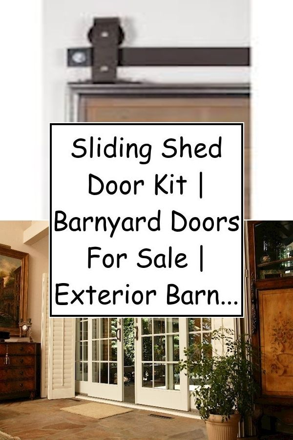 Shed With Sliding Doors Double Door V Groove Sliding Hardware Barn Door Hardware Designed By Exterior Barn Doors Exterior Sliding Barn Doors Diy Barn Door