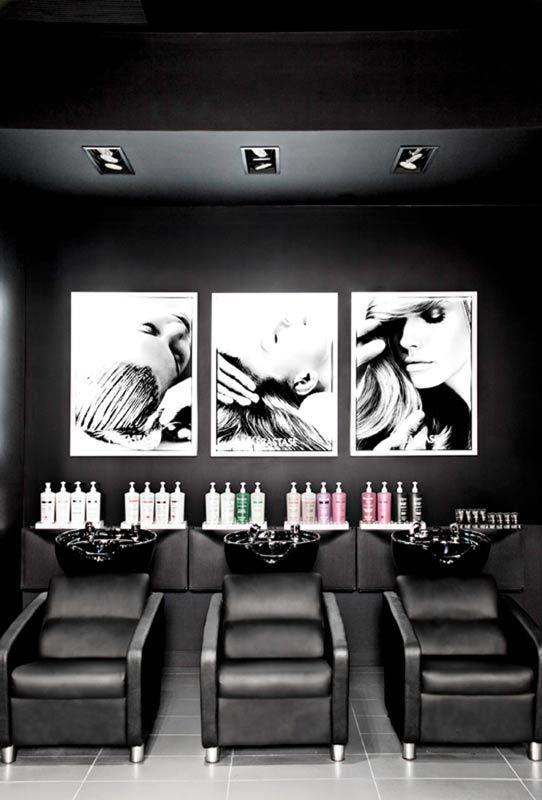 Carte blanche coiffure montreal salons salon interior - Salon design montreal ...