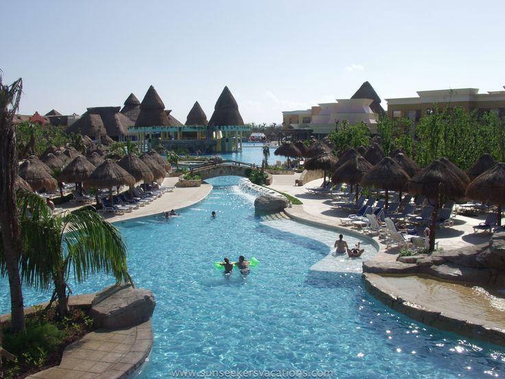 Amazing pools at iberostar paraiso lindo riviera maya for Amazing all inclusive resorts