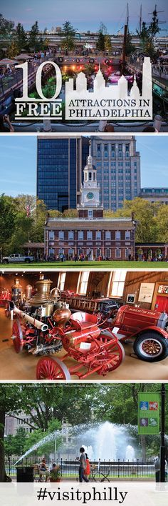 Top Free Attractions in Philadelphia: Popular places to visit — with no admission required.