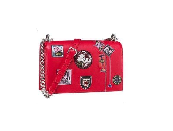 Diorama bag Dior Paradise - Modello in pelle rossa dalla collezione di accessori Dior