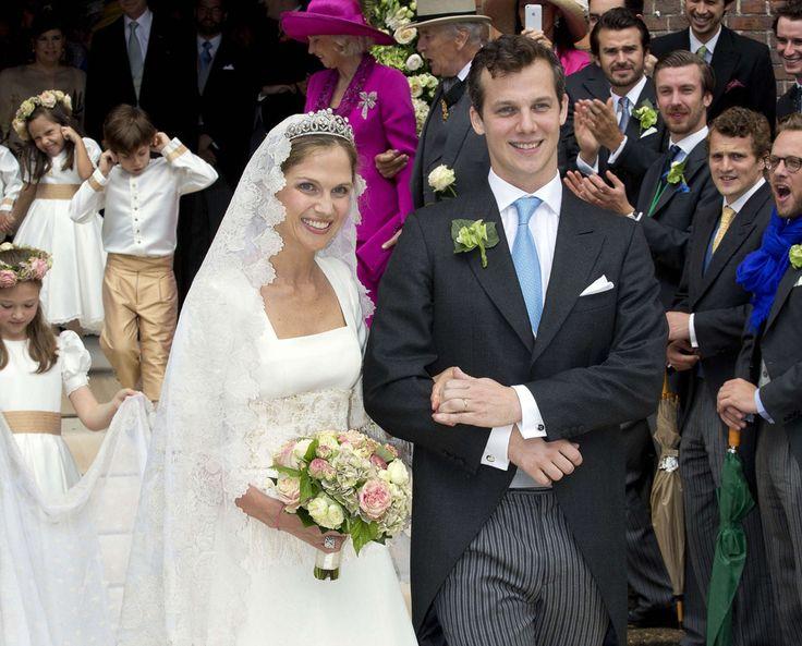 Alix de Ligne e Guillaume de Dampierre, matrimonio principesco. Alix è nipote del pretendente al Trono del Brasile (fratello di sua madre) e anche nipote del Granduca Jean del Lussemburgo. Figlia di Michele e della Principessa Eleonora di Orleans Braganza. Sua nonna è sorella del Granduca Jean.La prozia Iolanda ha sposato un figlio della Imperatrice Zita d'Austria. Ha dovuto rinunciare ai diritti sulla Corona del Brasile, non essendo il matrimonio conforme per il lignaggio dello sposo.
