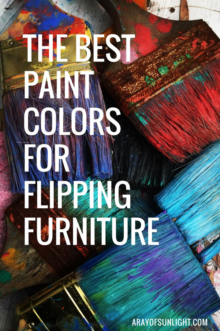 Color Guide Freebie A Ray Of Sunlight Flipping Furniture Flip