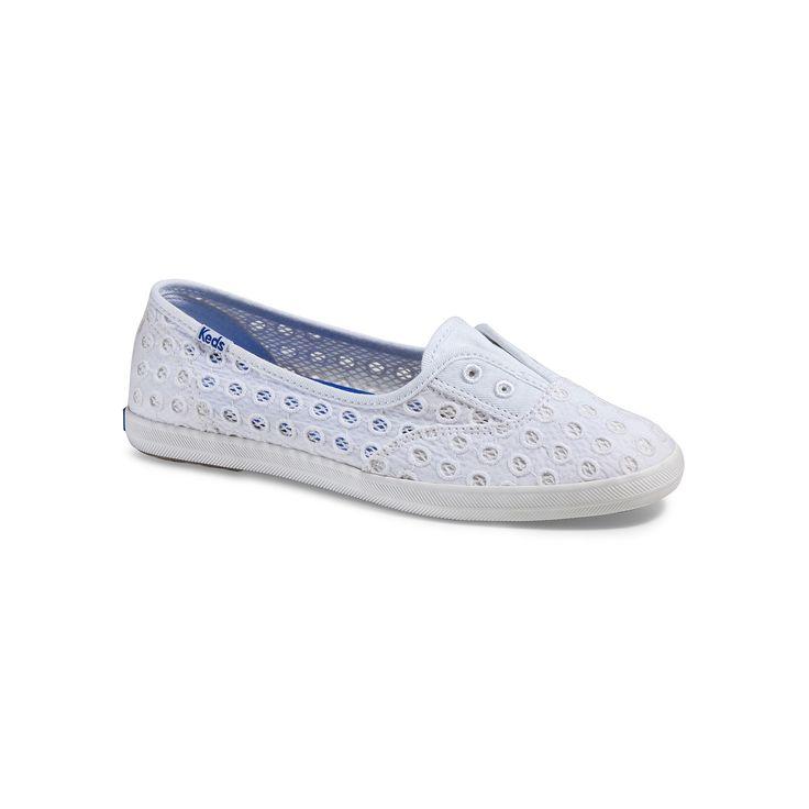 Keds Chillax Mini Eyelet Women's Shoes, Size: medium (8.5), White