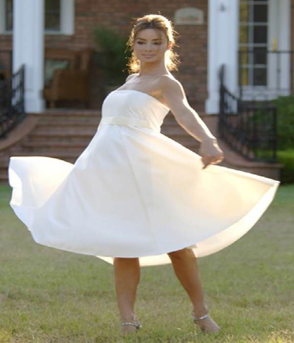11 best Maternity wedding dresses images on Pinterest | Homecoming ...