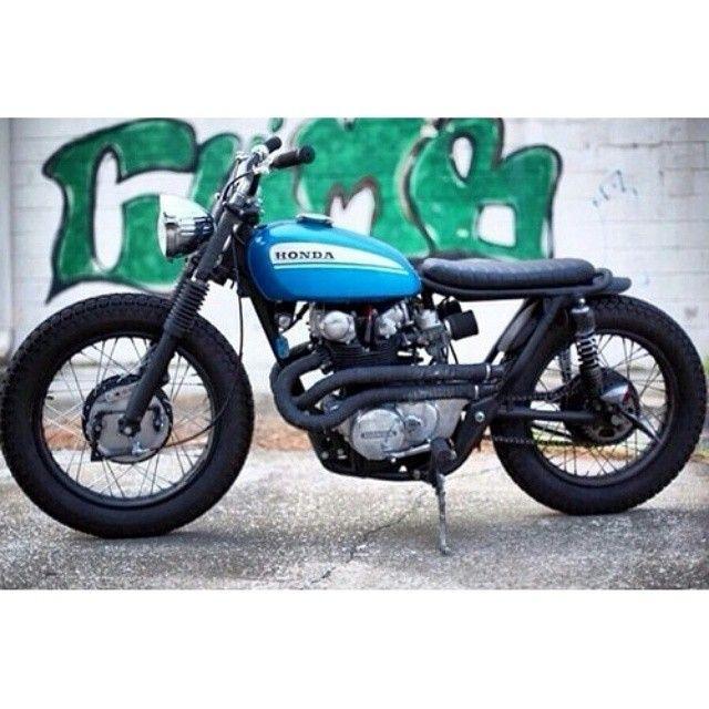 klassikkustoms:#Honda #cl450 #Flowstyle