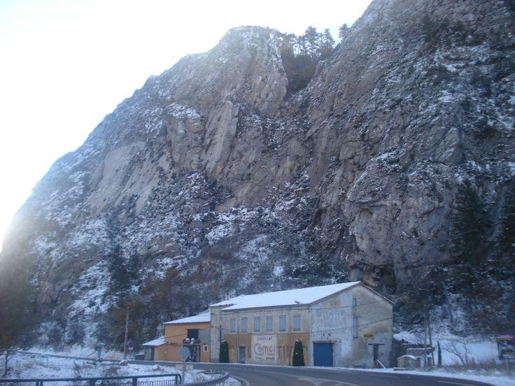 Entrée nord du village