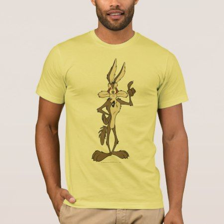 Wile E. Coyote Standing Tall T-Shirt - tap, personalize, buy right now!