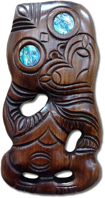 Maori Tiki New Zealand Souvenirs.
