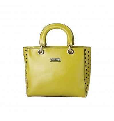 PIERRE CARDIN Yellow Handbag - MyaBelle - 1