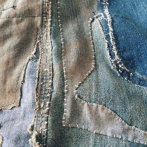 Remnants restored #denim #repair #rebuild