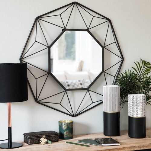 les 25 meilleures id es de la cat gorie miroir maison du monde sur pinterest miroir cuivre. Black Bedroom Furniture Sets. Home Design Ideas