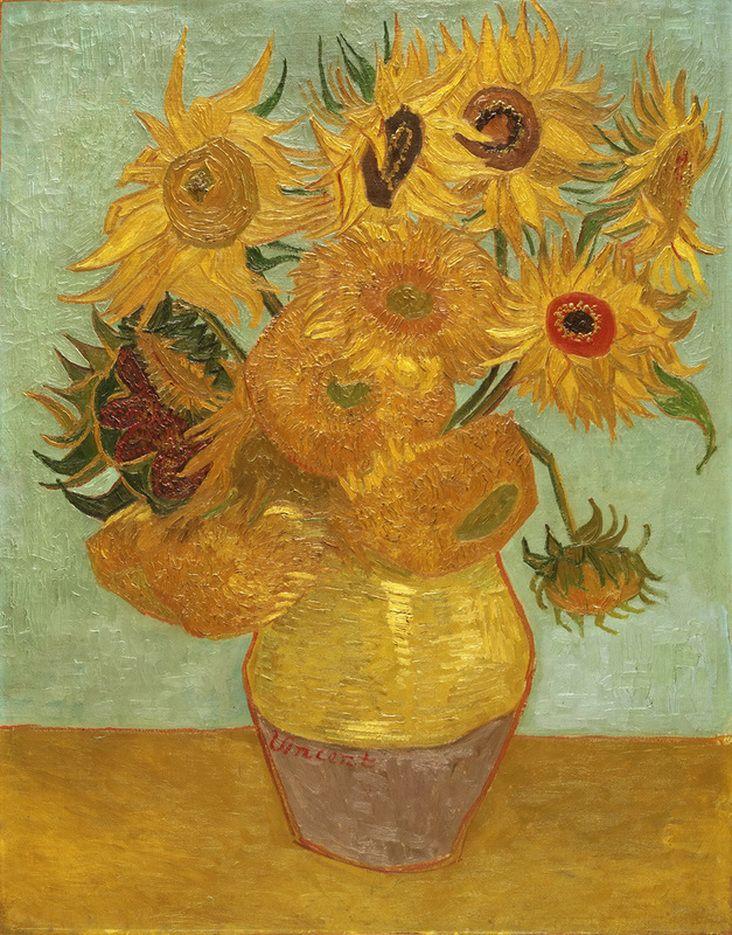 Vase with Twelve Flowers by Vincent van Gogh | Lone Quixote